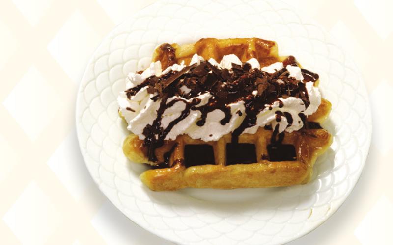 Liège waffle chocolate