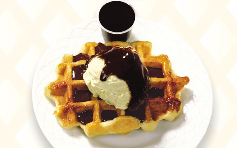 Liège waffle ice